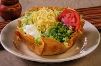 st louis food photography and video - Ole Mexican salad